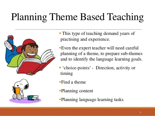 theme based teaching and learning