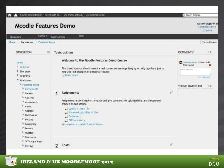 IRELAND & UK MOODLEMOOT 2012