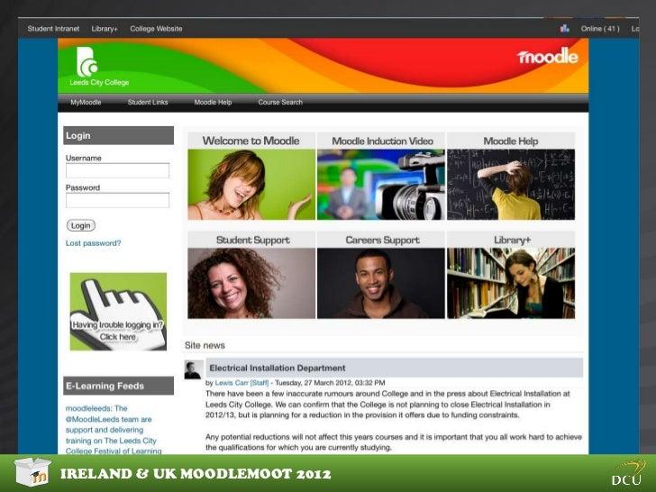 CUSTOM MOODLE THEMES4 Advanced custom themesIRELAND & UK MOODLEMOOT 2012