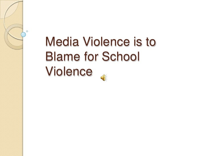 media violence and school shootings School shootings social media and school violence: helping kids cope after parkland kids and violence 7 ways to curb kids' exposure to violence  kids and violence.