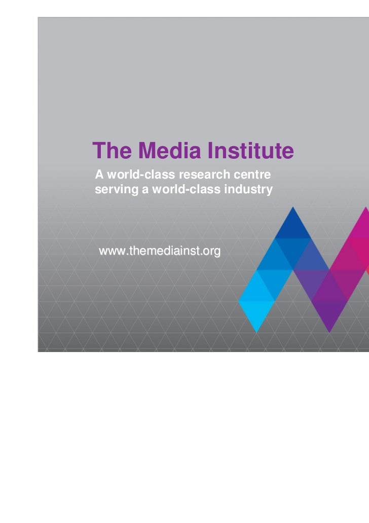 an overview of the media as an institution About ifc back overview ifc governance  follow us on social media  the world bank group—is the largest global development institution focused exclusively .