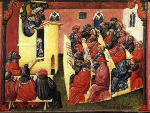 The medieval education (monastic, scholastic, chivalric)