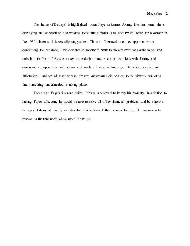 theme of essay