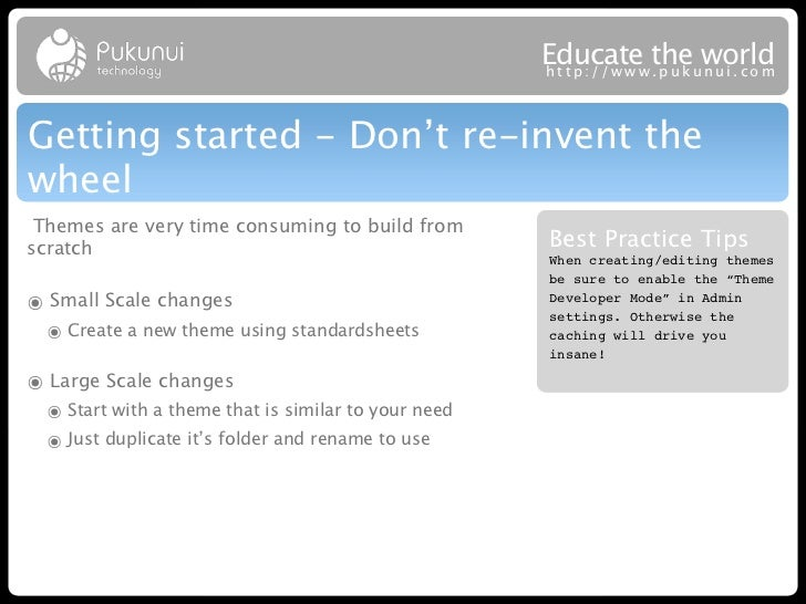 Educatew theuworld                                                      http://ww .puk nui.comGetting started - Don't re-i...