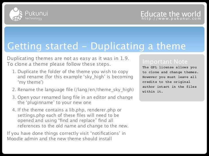 Educatew theuworld                                                            http://ww .puk nui.comGetting started - Dupl...