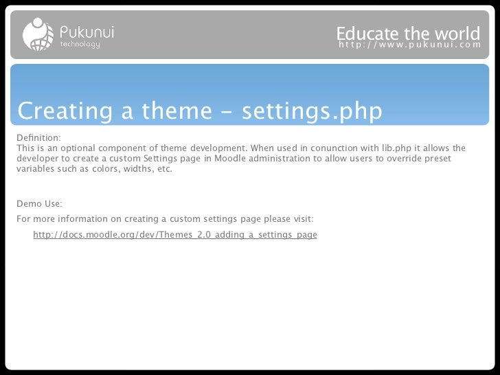 Educatew theuworld                                                                        http://ww .puk nui.comCreating a...