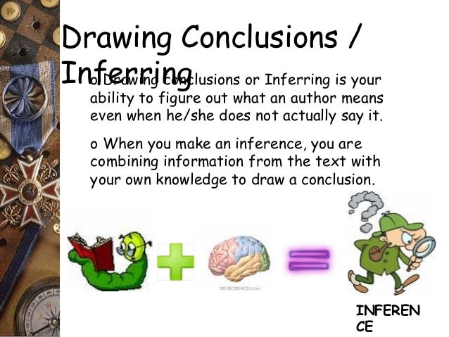 Drawing a Conclusion Worksheets | 5th Grade and Middle School