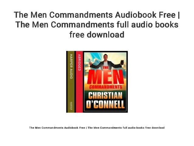 the men comm andments oconnell christian