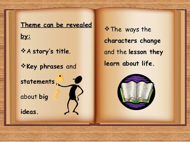 the theme of a short story – we give you a very short story and ask you to tell us the theme from key word to theme – if you could sum up these stories in one word, what would the word be rachel's story – rachel's study group really begins to think through different scenarios.