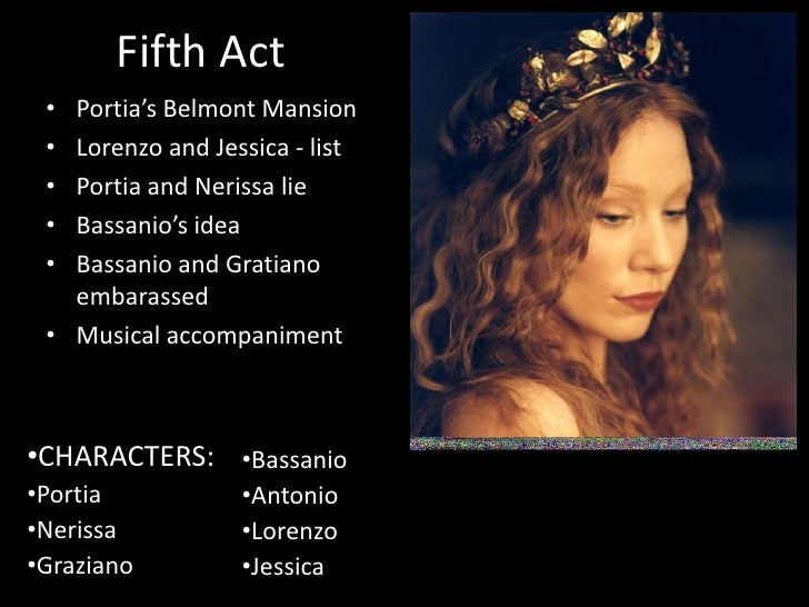 the merchant of venice relationship between portia and bassanio