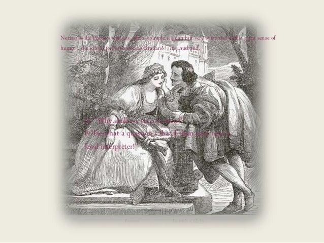 gratiano and nerissa relationship trust