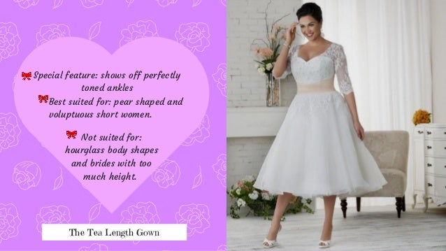 Different Types Of Wedding Gowns With Specifications