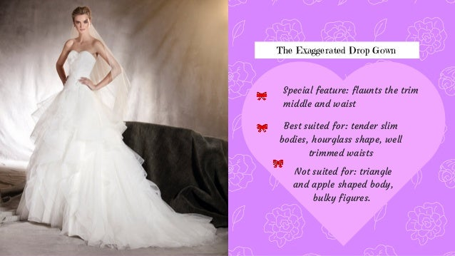 5 The Exaggerated Drop Gown
