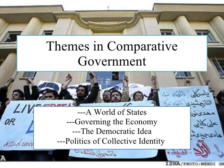 Themes in Comparative Government ---A World of States ---Governing the Economy ---The Democratic Idea ---Politics of Colle...