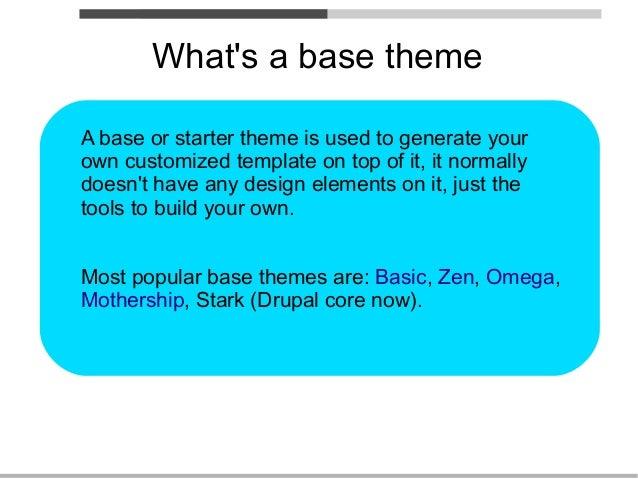 drupal themes stark
