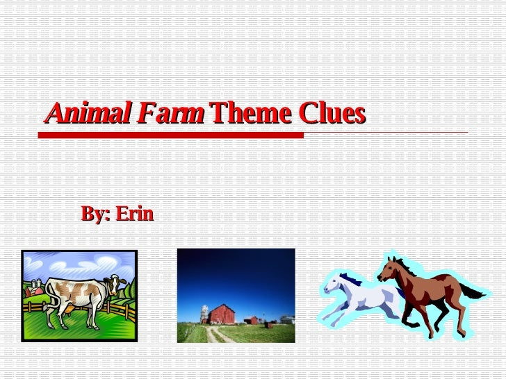 themes of animal farm