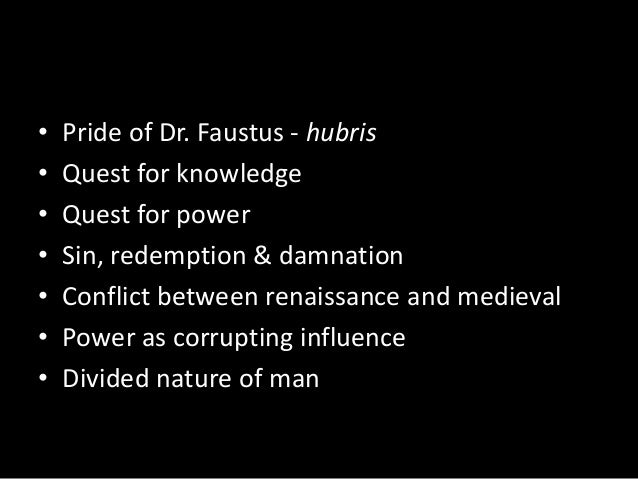 dr faustus theme pdf