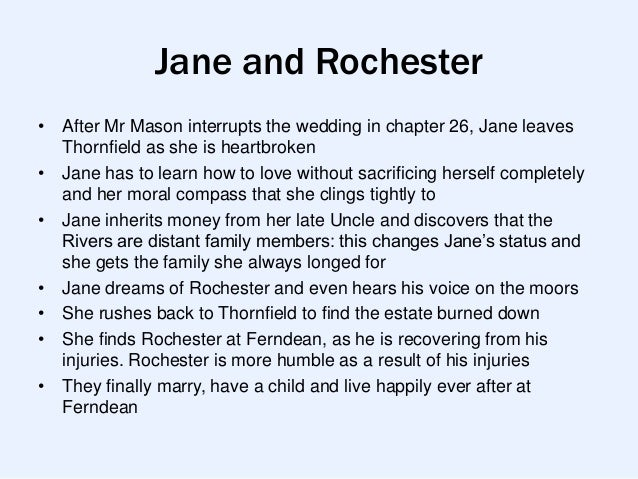 an introduction to the literary analysis of jane eyre and mr rochester Whether jane eyre functions as a primarily feminist text has been a source  her  own interpretation of the social conventions of marriage and motherhood   financial agency and her indomitable affection for edward rochester   charlotte brontë, jane eyre, annotated and with an introduction by joyce.