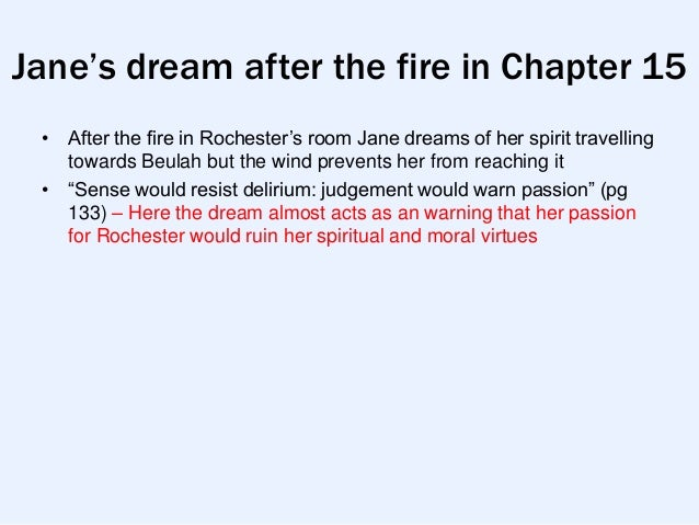 an analysis of the passion dreams and the supernatural in jane eyre Psychoanalytic criticism and jane eyre what is a hoff-mann's supernatural tale the or dream that freudian analysis can help explain the.