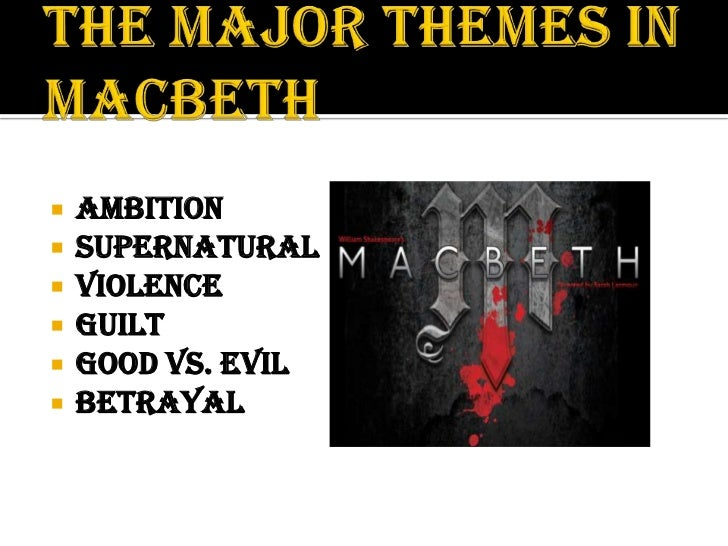 macbeth good vs evil Uses good vs evil in the play macbeth throughout the play macbeth by william shakespeare, it is identified that 'good vs evil' plays the role as a major theme.
