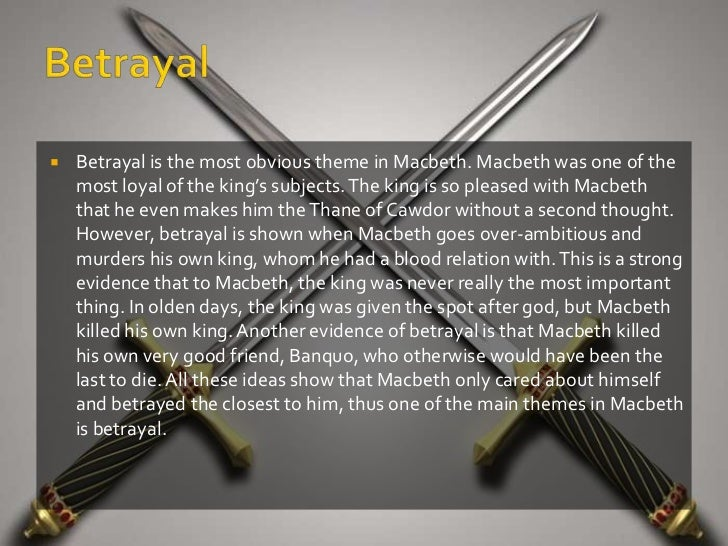 Thesis statements for macbeth