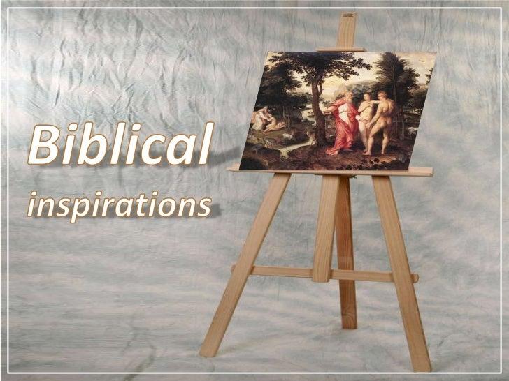Biblicalinspirations<br />