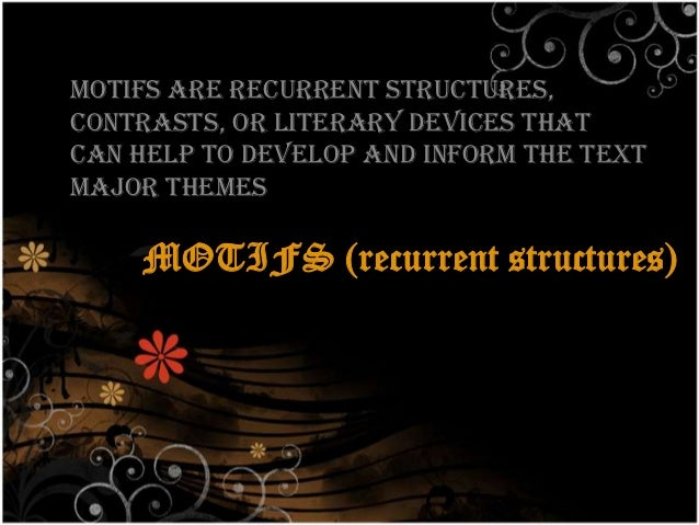 reoccurring themes and symbols Themes, motifs and symbols themes and motifs the central subject or topic in a work of literature (or art) is referred to as its theme a sophisticated work.