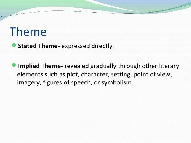 Themesymbols And Motifs