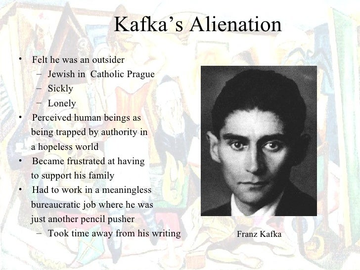 kafka alienation