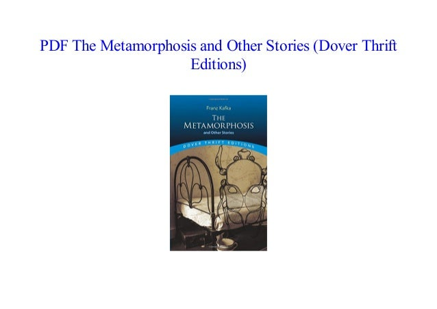 The Metamorphosis By Franz Kafka Pdf