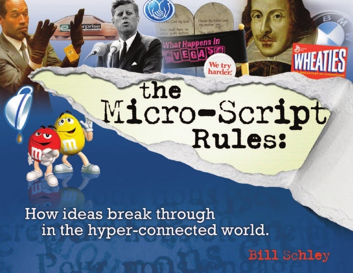 The eBook that couldn,t wait                                        The whole story of The Micro-Script Rules fits neatly ...