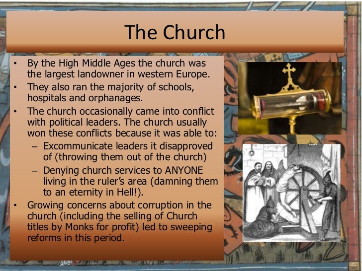 The Middle Ages introduction and overview