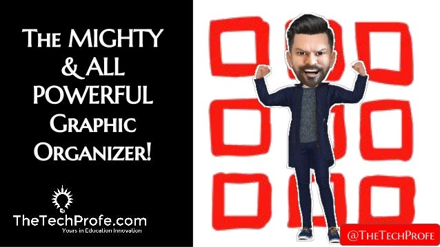 The MIGHTY & ALL POWERFUL Graphic Organizer! @TheTechProfe