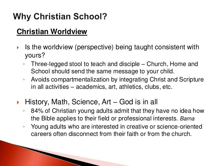 a christian worldview Q: how does summit help its students think about the issues related to  healthcare reform in the us from a christian worldview a: we focus.