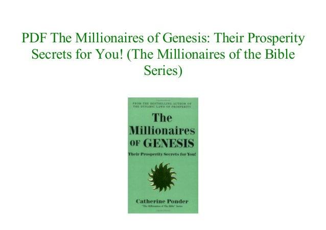 Bible pdf millionaires of the