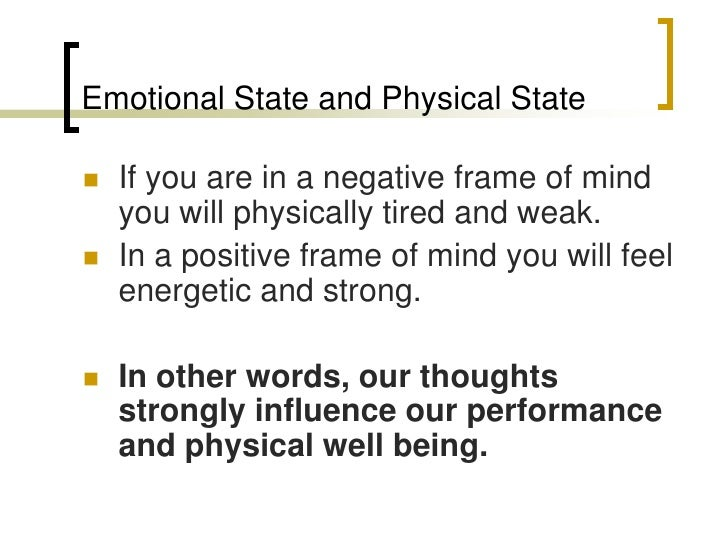 The mind body link