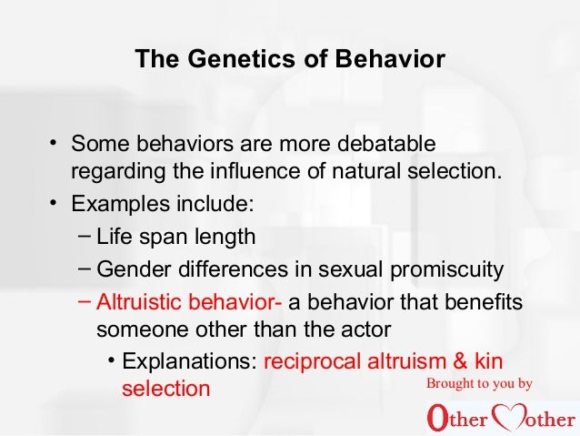Behavior Genetics Examples Choice Image Example Cover Letter For
