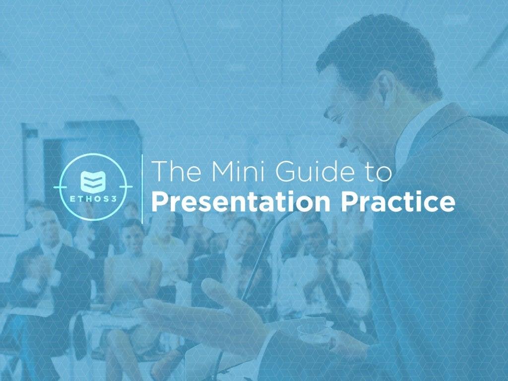 The Mini-Guide to Presentation Practice
