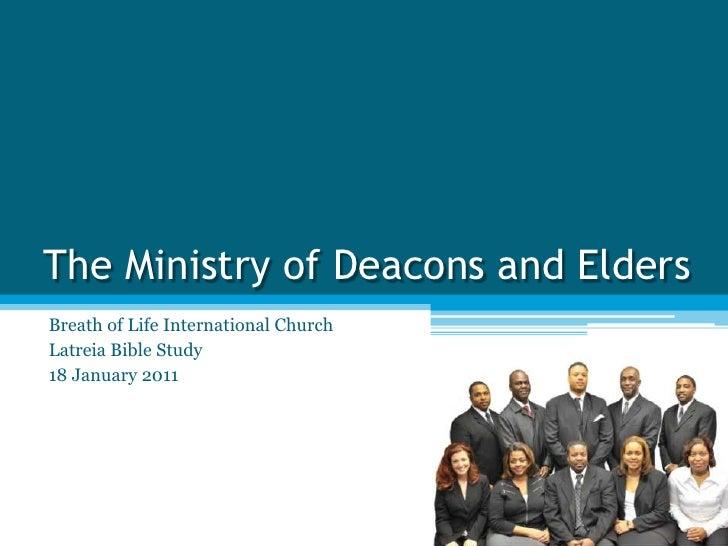 pastor and elder relationship