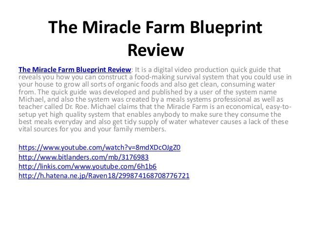 The miracle farm blueprint review the miracle farm blueprint review the miracle farm blueprint review it is a digital video malvernweather Choice Image