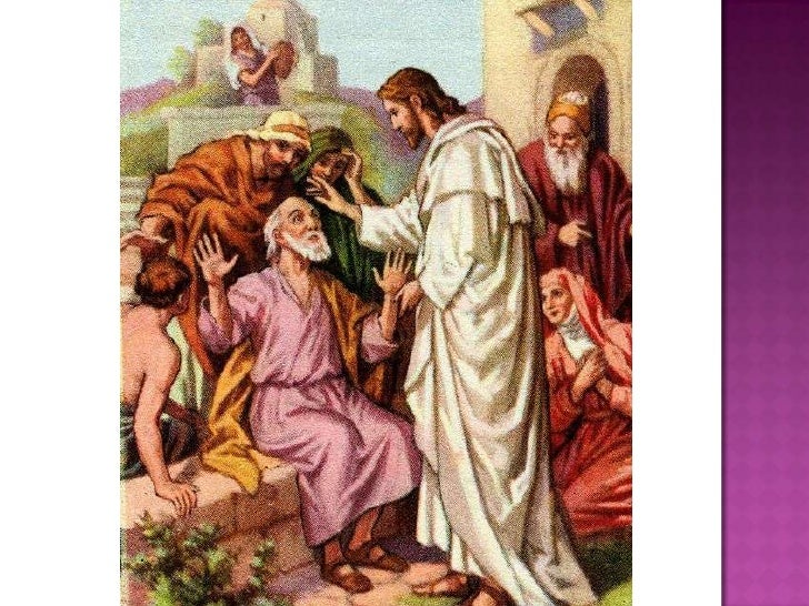 The Miracles Of Jesus Presentation