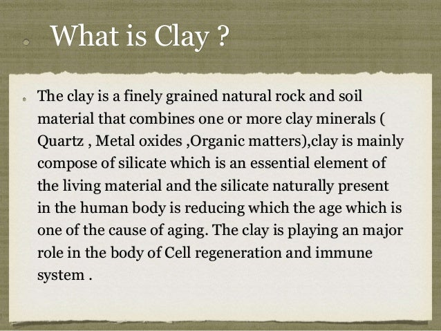 The miraculous power of clay tooth paste Slide 3