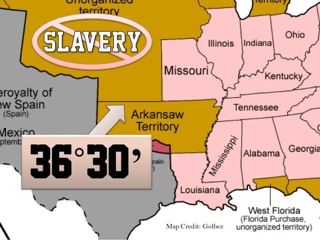 UnitedStatesHistoryLSA - Missouri Compromise
