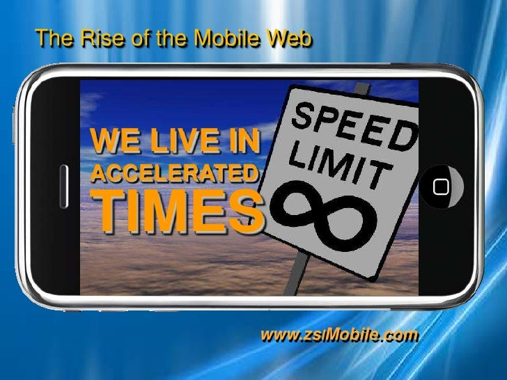 WE LIVE IN ACCELERATED<br />TIMES<br />