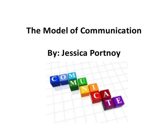 The Model of Communication By: Jessica Portnoy