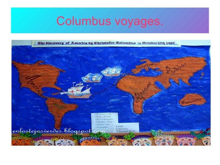 Columbus voyages.