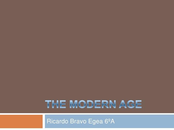 Ricardo Bravo Egea 6ºA