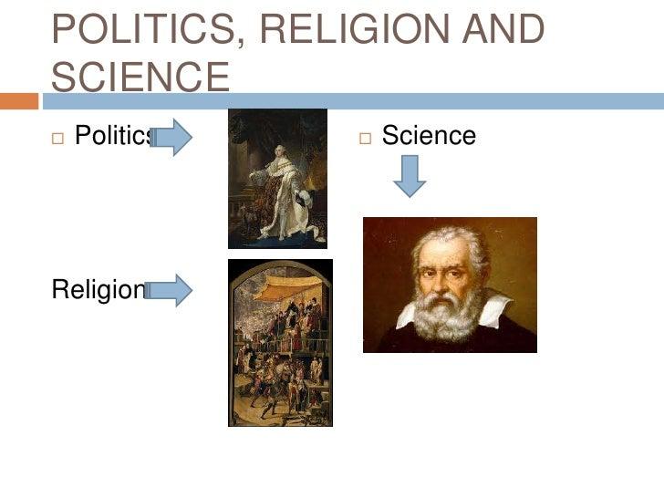 POLITICS, RELIGION ANDSCIENCE   Politics      ScienceReligion