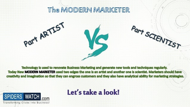 The Modern Marketer - Spiders Watch Technologies