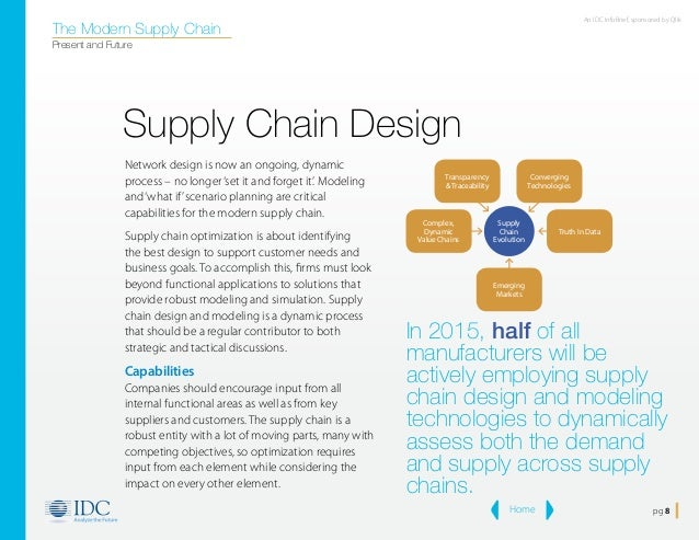 supply chain design essay The entire supply chain (figure 1) is looked across my supply chain management, rather than a single entity or level the scm aims to increase alignment and transparency of supply chain's configuration and coordination, regardless of corporate or functional boundaries.